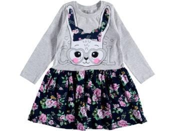 Платье на девочку серое трикотаж 2/5 лет 317318